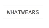 whatwears.com logo
